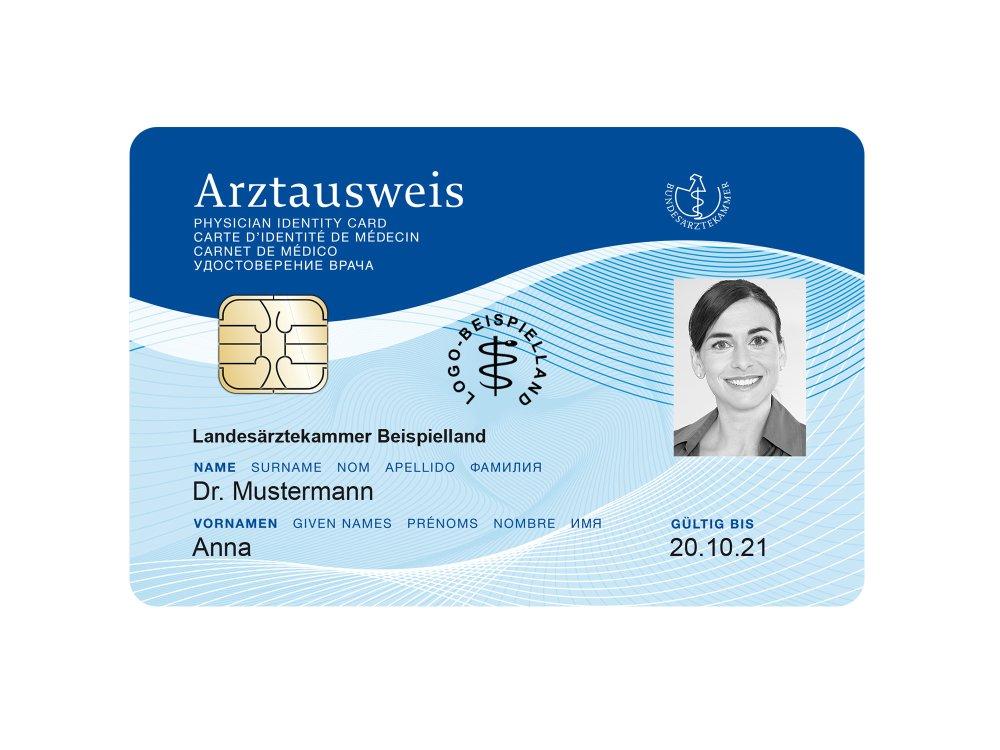 Elektronischer Arztausweis von medisign
