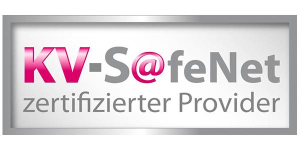 Logo zertifizierter KV-SafeNet-Provider