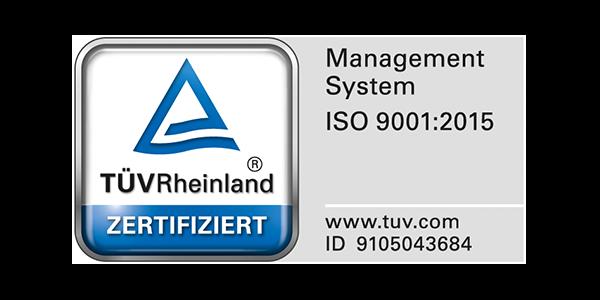 DGN Zertifikat ISO 9001