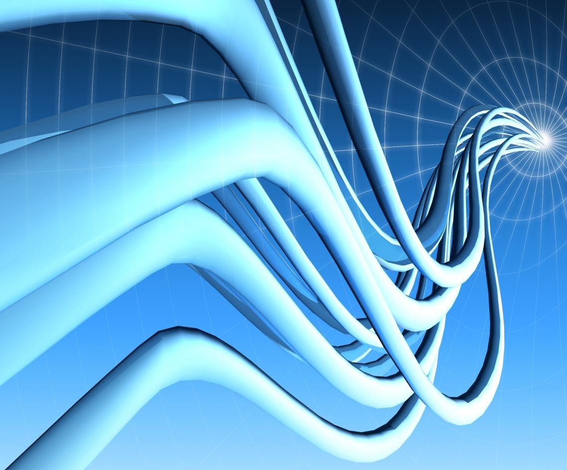Blaue Kabel