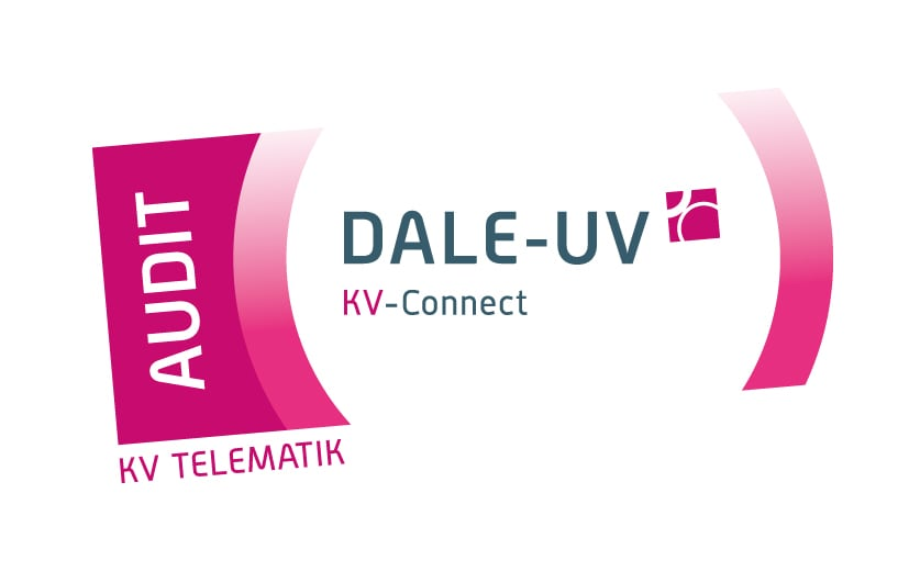 Logo DALE-UV mit KV-Connect