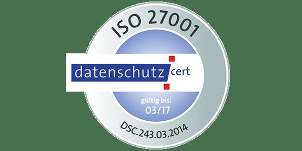 DGN Zertifikat nach ISO 27001