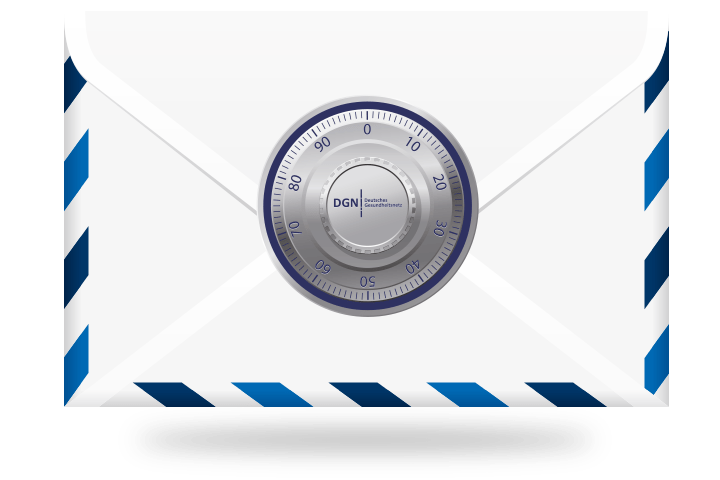 Das E-Mail-Zertifikat DGNCert