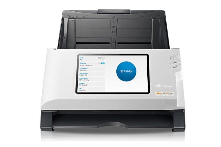 DGN TimeScan - Scanner mit integriertem Zeitstempeldienst