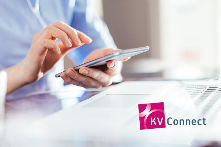 1-Click-Abrewchnung mit KV-Connect